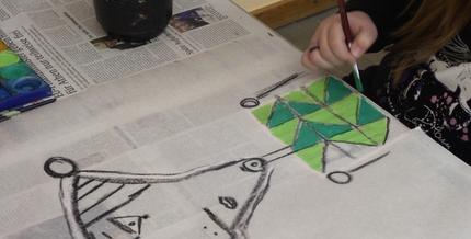 "Workshop ""Kunst aus dem Koffer - Picasso"""